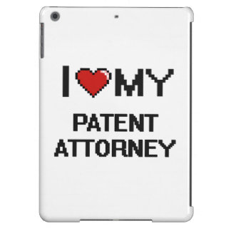 I love my Patent Attorney iPad Air Cases