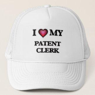 I love my Patent Clerk Trucker Hat