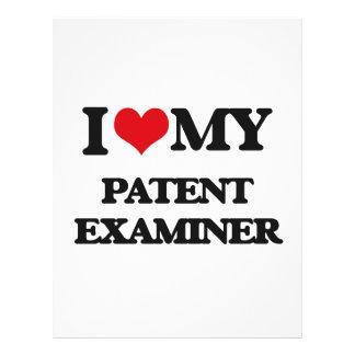 "I love my Patent Examiner 8.5"" X 11"" Flyer"