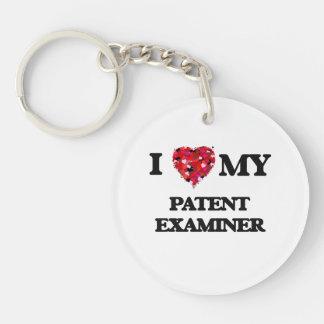 I love my Patent Examiner Single-Sided Round Acrylic Keychain