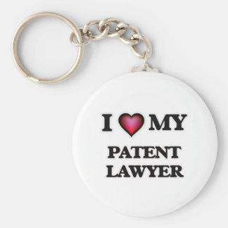 I love my Patent Lawyer Keychain