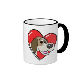 I Love my PBGV Mug
