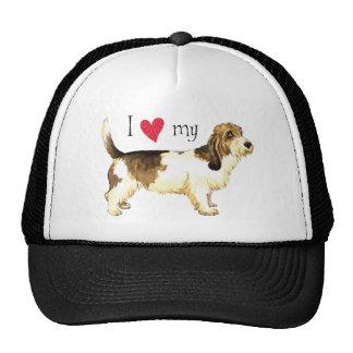 I Love my PBGV Trucker Hat