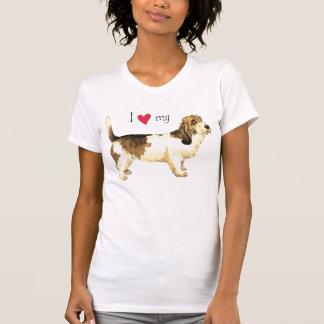 I Love my PBGV T Shirt