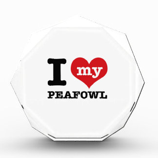 I love my peafowl awards