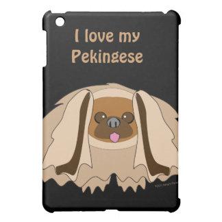 I Love My Pekingese Dog Custom Phone Case iPad Mini Case
