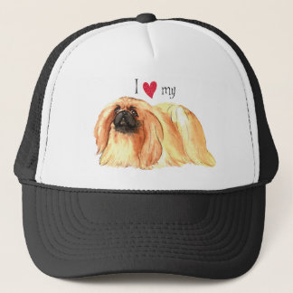 I Love my Pekingese Trucker Hat