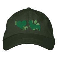I Love my Pembroke Welsh Corgi Embroidered Hat Baseball Cap