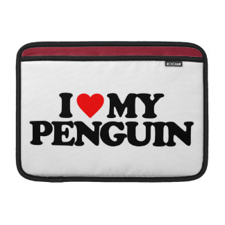 I LOVE MY PENGUIN SLEEVES FOR MacBook AIR