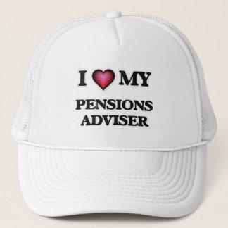 I love my Pensions Adviser Trucker Hat