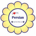 I Love My Persian (Female Cat) Photo Cut Outs