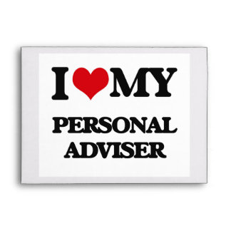 I love my Personal Adviser Envelope