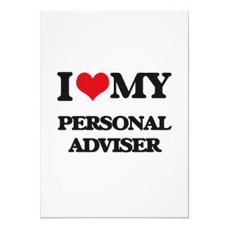 I love my Personal Adviser 5x7 Paper Invitation Card