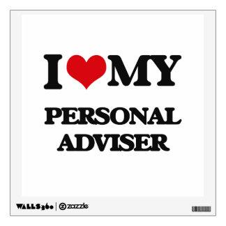 I love my Personal Adviser Room Sticker