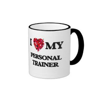 I love my Personal Trainer Ringer Mug