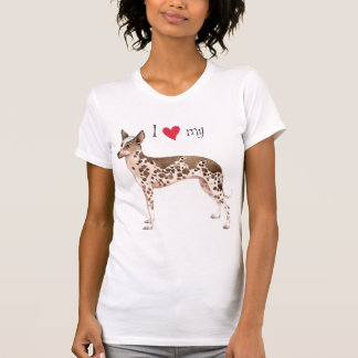 I Love my Peruvian Inca Orchid T-Shirt