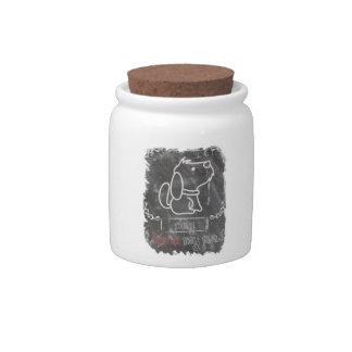 I Love My Pet Dog Animals Candy Jar