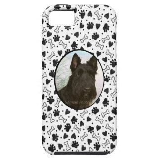 I Love My Pet Dog Custom Photo in Black and White iPhone SE/5/5s Case
