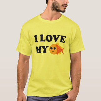 I Love My Pet Goldfish T-shirt