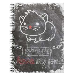 I Love My Pet Guinea Pig Animals Notebook