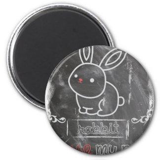 I Love My Pet Rabbit Animals Magnet