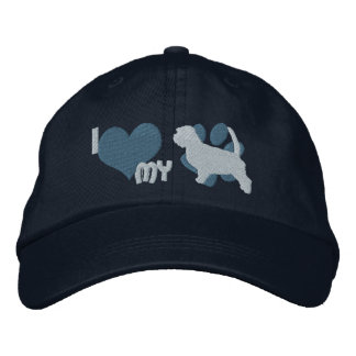 I Love my Petit Basset Griffon Vendeen Embroidered Hat