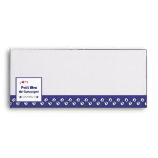 I Love My Petit Bleu de Gascogne (Female Dog) Envelopes