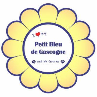 I Love My Petit Bleu de Gascogne (Female Dog) Photo Sculpture Ornament