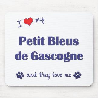 I Love My Petit Bleus de Gascogne (Multiple Dogs) Mouse Pad