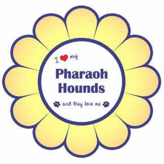 I Love My Pharaoh Hounds (Multiple Dogs) Statuette