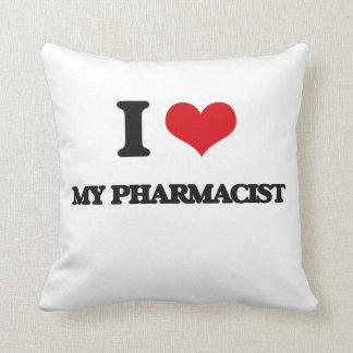 I Love My Pharmacist Pillow