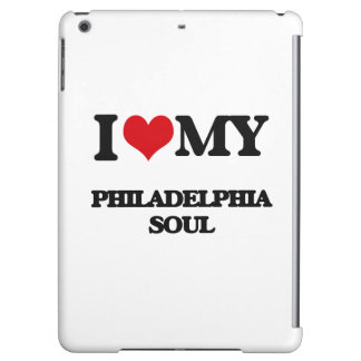 I Love My PHILADELPHIA SOUL iPad Air Case