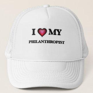 I love my Philanthropist Trucker Hat