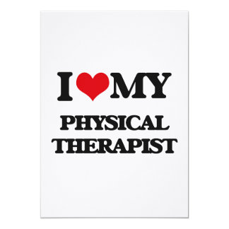 I love my Physical Therapist Cards