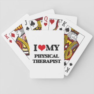 I love my Physical Therapist Poker Deck