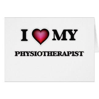 I love my Physiotherapist Card