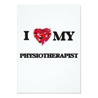 I love my Physiotherapist 5x7 Paper Invitation Card