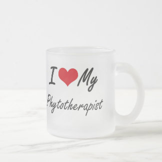 I love my Phytotherapist 10 Oz Frosted Glass Coffee Mug