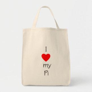 I Love My Pi Tote Bag