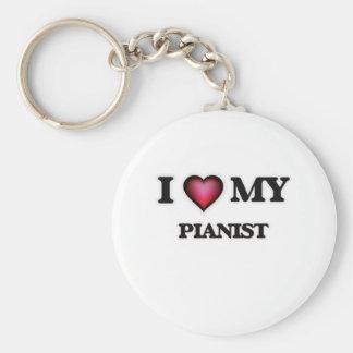 I love my Pianist Keychain