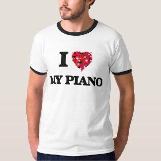 I Love My Piano Tee Shirts