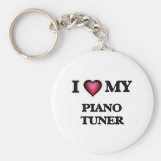 I love my Piano Tuner Keychain