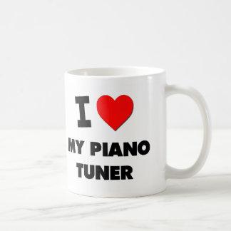 I love My Piano Tuner Coffee Mugs