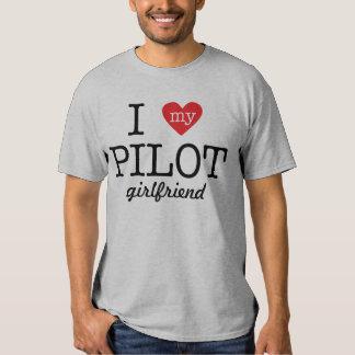 I Love My Pilot Girlfriend T-shirt