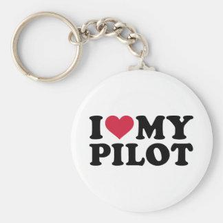 I love my Pilot Basic Round Button Keychain