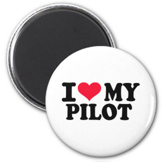 I love my Pilot Refrigerator Magnet