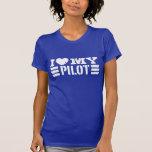 I Love My Pilot Tees