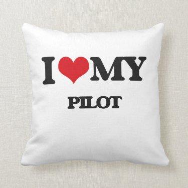 I love my Pilot Throw Pillows