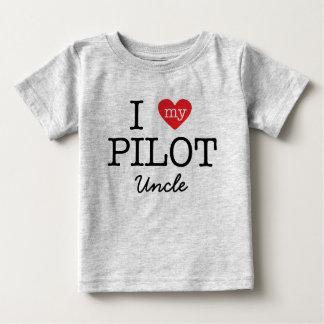 I Love My Pilot Uncle T-shirt