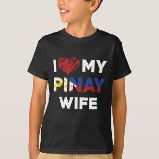 I Love My Pinay Wife T-Shirt